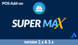 Supermax Opencart POS Customer Facing Display / Screen (CFD)